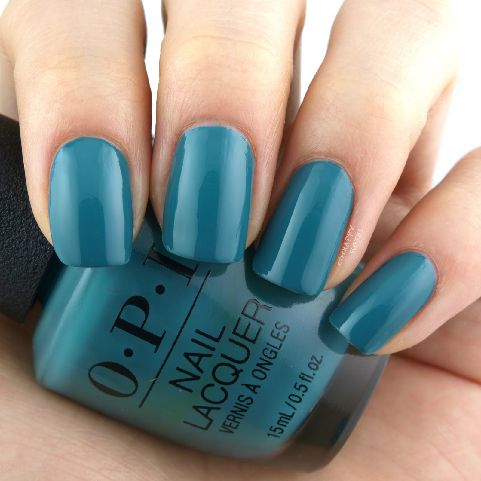 OPI Grease Collection | Teal Me More, Teal Me More: Review and Swatches