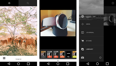 best app for photo editing android VSCO
