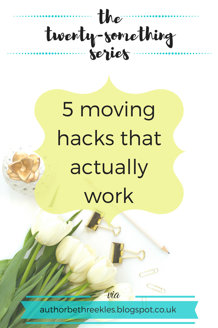 Moving can be pretty stressful, so here are a few hacks I found work miracles.