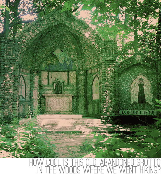 abandoned grotto