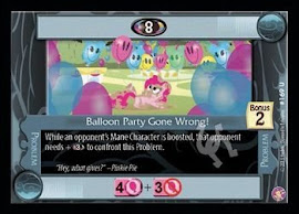 My Little Pony Balloon Party Gone Wrong! Absolute Discord CCG Card