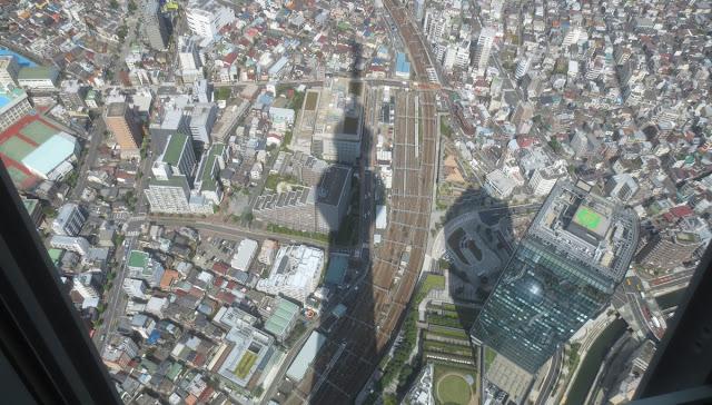 Tokyo Skytree - Aussicht