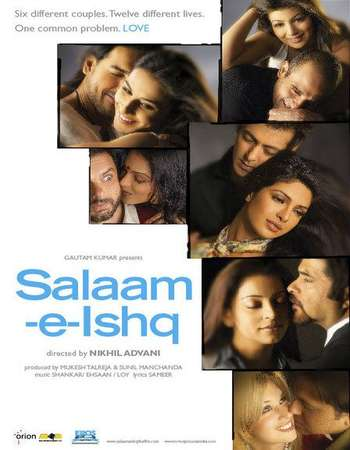 Poster Of Great Salaam-E-Ishq 2007 Hindi 700MB HDRip 720p HEVC Watch Online Free Download Worldfree4u