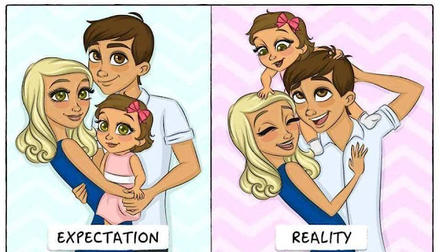 The Expectations & Reality Of How Life Changes After Becoming Parents