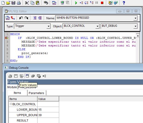 Depurando Triggers - MAGIC PL/SQL ORACLE