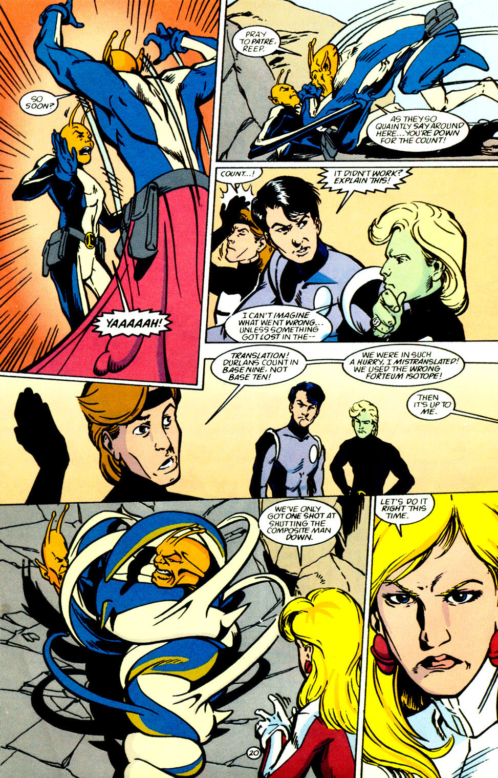 Legion of Super-Heroes (1989) 69 Page 21