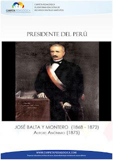 Presidente José Balta y Montero