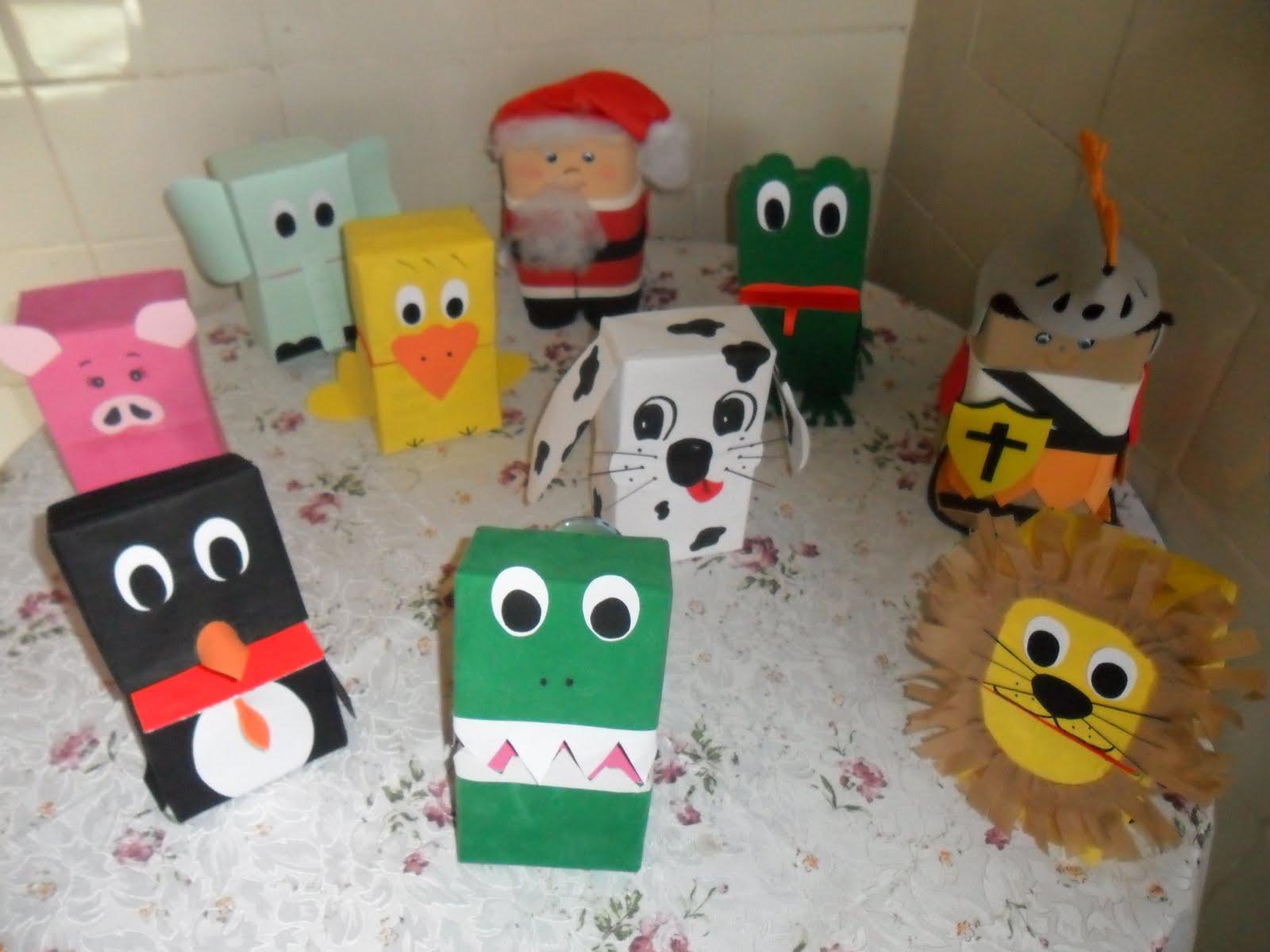 Armario Definicion Arquitectura ~ educaç u00e3o Reciclagem com caixa de leite para Educaç u00e3o infantil