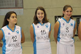 Presentación de los equipos del Club Baloncesto Paúles