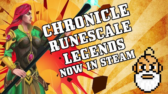 Chronicle: Runescape Legends ☠ Now Available In STEAM