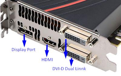 Beberapa konektor/ port VGA