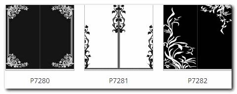 изображение рамок и уголков на зеркале