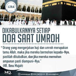 Dikabulkannya Setiap Doa Saat Umroh - Qoutes - Kajian Islam Tarakan