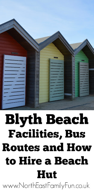 A Trip to Blyth Beach Northumberland | How to Hire Beach Huts, Bus Information & Coastline Fish & Chips