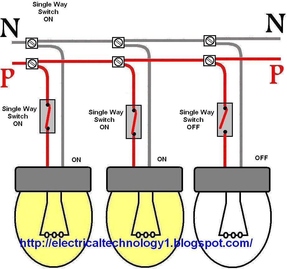How+to+control+each+lamp+by+separately+switch+in+parallel+lighting+circuithttpelectricaltechnology1.blogspot.com?resized665%2C624 simple lighting circuit wiring diagram efcaviation com house light wiring diagram at sewacar.co