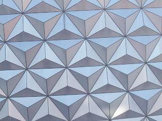 Spaceship Earth Geodesic Tiles