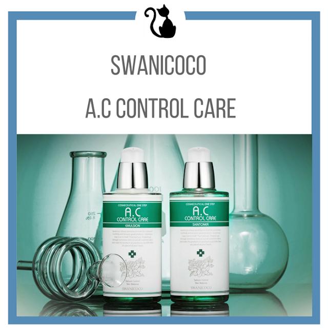 Idealna równowaga dla cery tłustej Swanicoco A.C Control Care