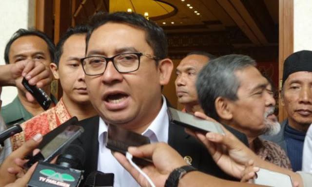 Fadli Zon Resmi Jabat Plt Ketua DPR RI