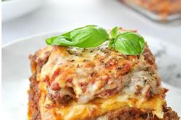 just like the real thing  lasagna!