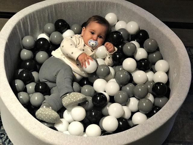 Soy una mama molona piscina de bolas de minibe - Minibe piscina bolas ...