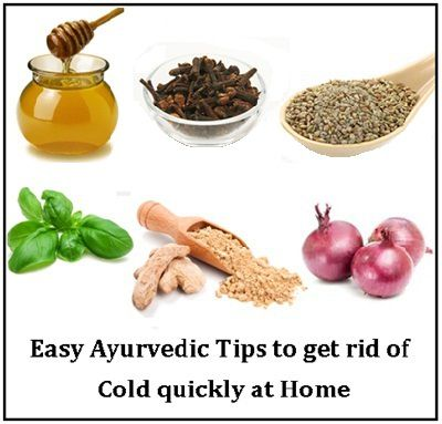 Easy Ayurvedic Tips to get rid of Cold quickly at Home