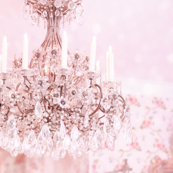 There Is Always Light In Paris Ornate Antique Chandelier