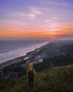 menyuguhkan sunset terbaik
