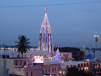 St Mary's Church Basilica Bangalore Feast 2012 Night View