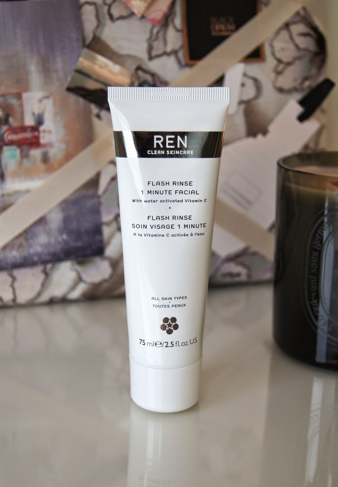 ren flash rinse 1 minute facial treatment review