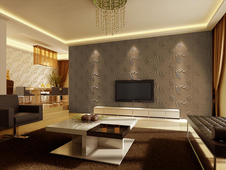 wand ideen wohnzimmer tapeten design ideen schlafzimmer  Wohnidee  Wohnen und Dekoration