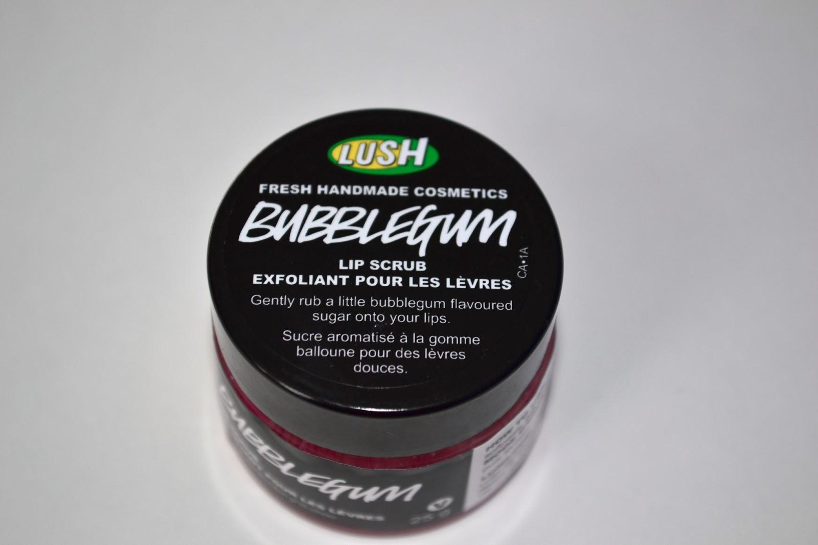 how to make bubblegum lip scrub