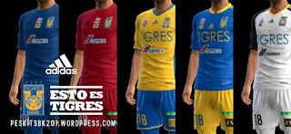 Tigres UANL Kits 2016-2017 PES 2013