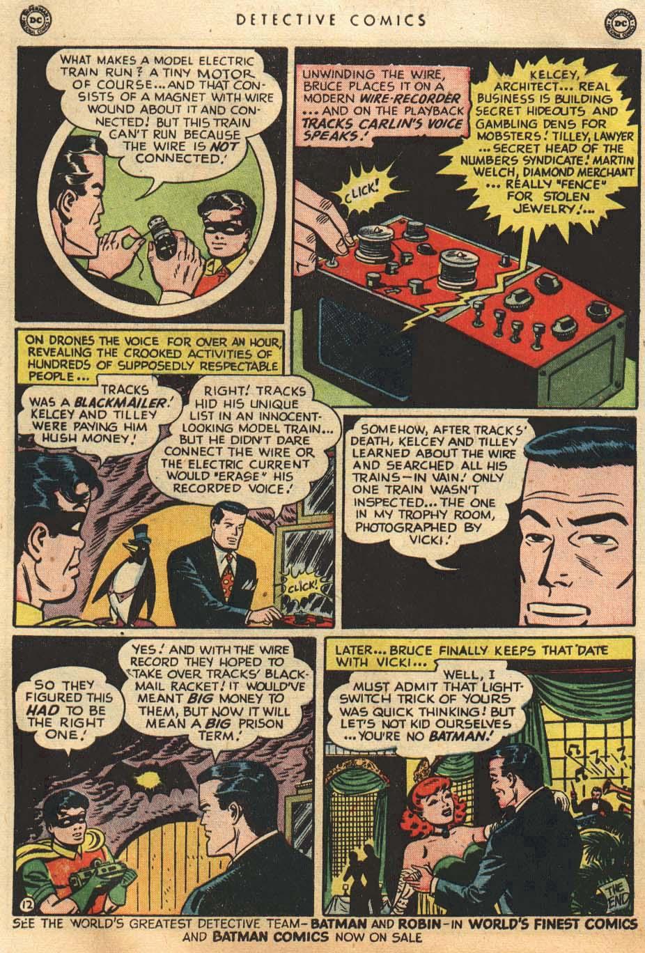 Detective Comics (1937) 155 Page 13