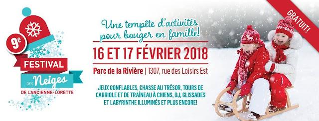 Festival des neiges de L'Ancienne-Lorette