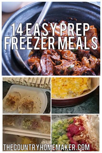 easy freezer meals