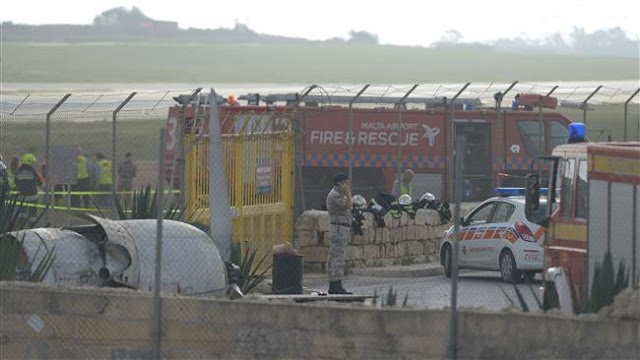 Five killed as aircraft on French surveillance mission crashes in Malta