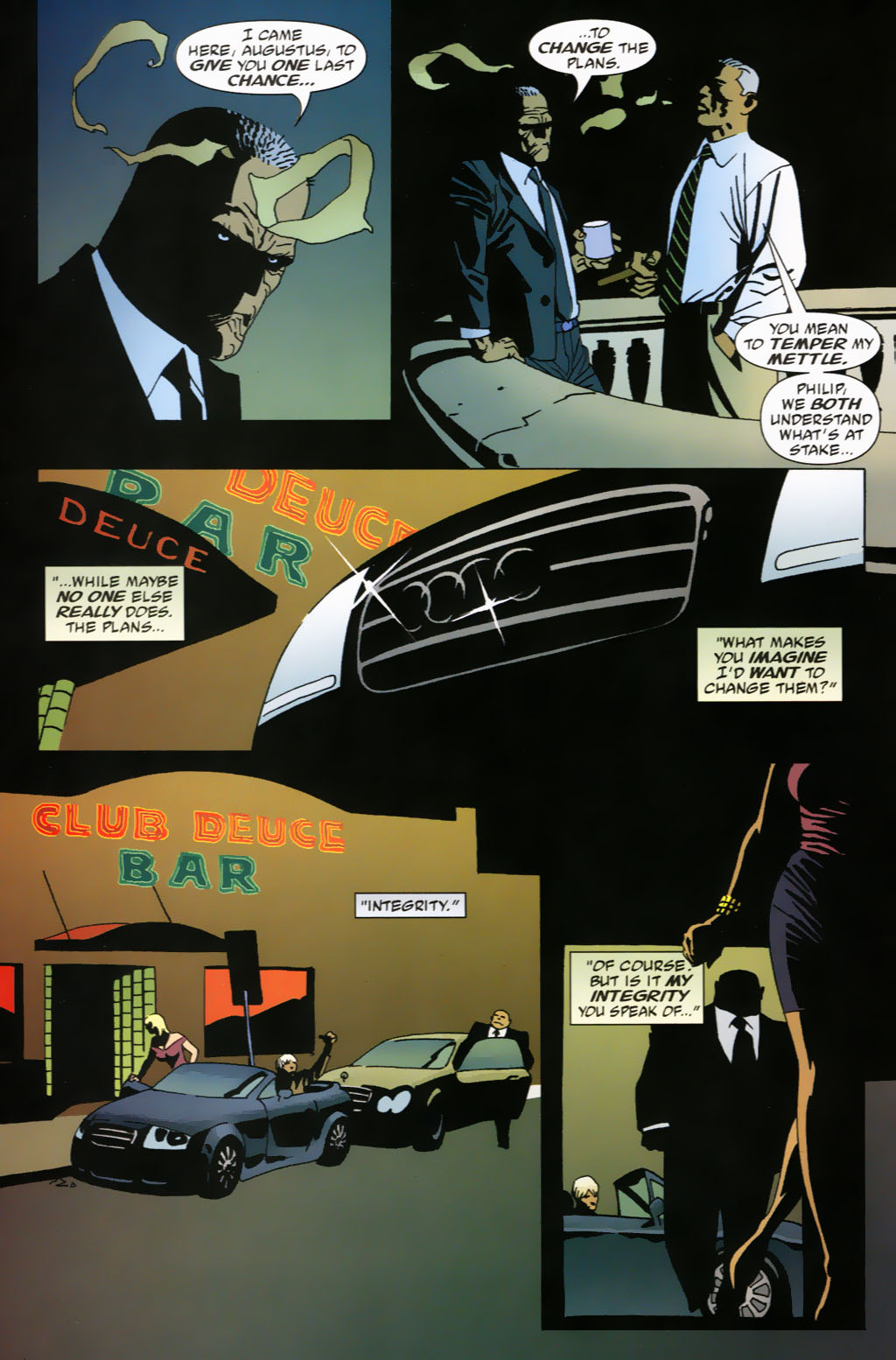 Read online 100 Bullets comic -  Issue #63 - 18