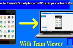 How to Remote Smartphone to Computer Laptop using Team Viewer