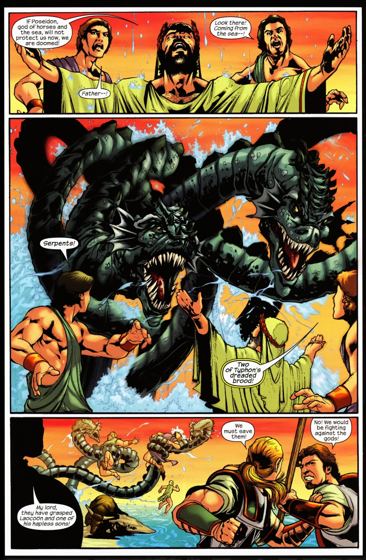 Read online Trojan War comic -  Issue #5 - 4