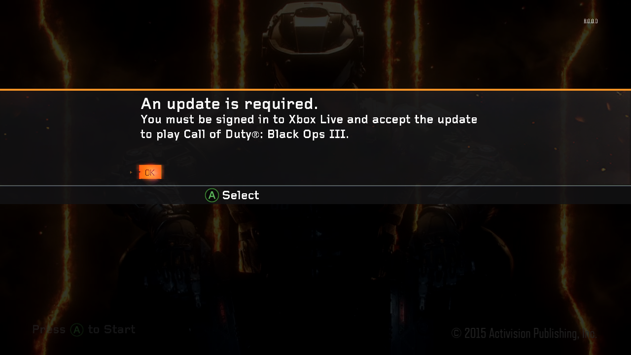 Mengatasi Game Call of Duty: Black Ops III An update is