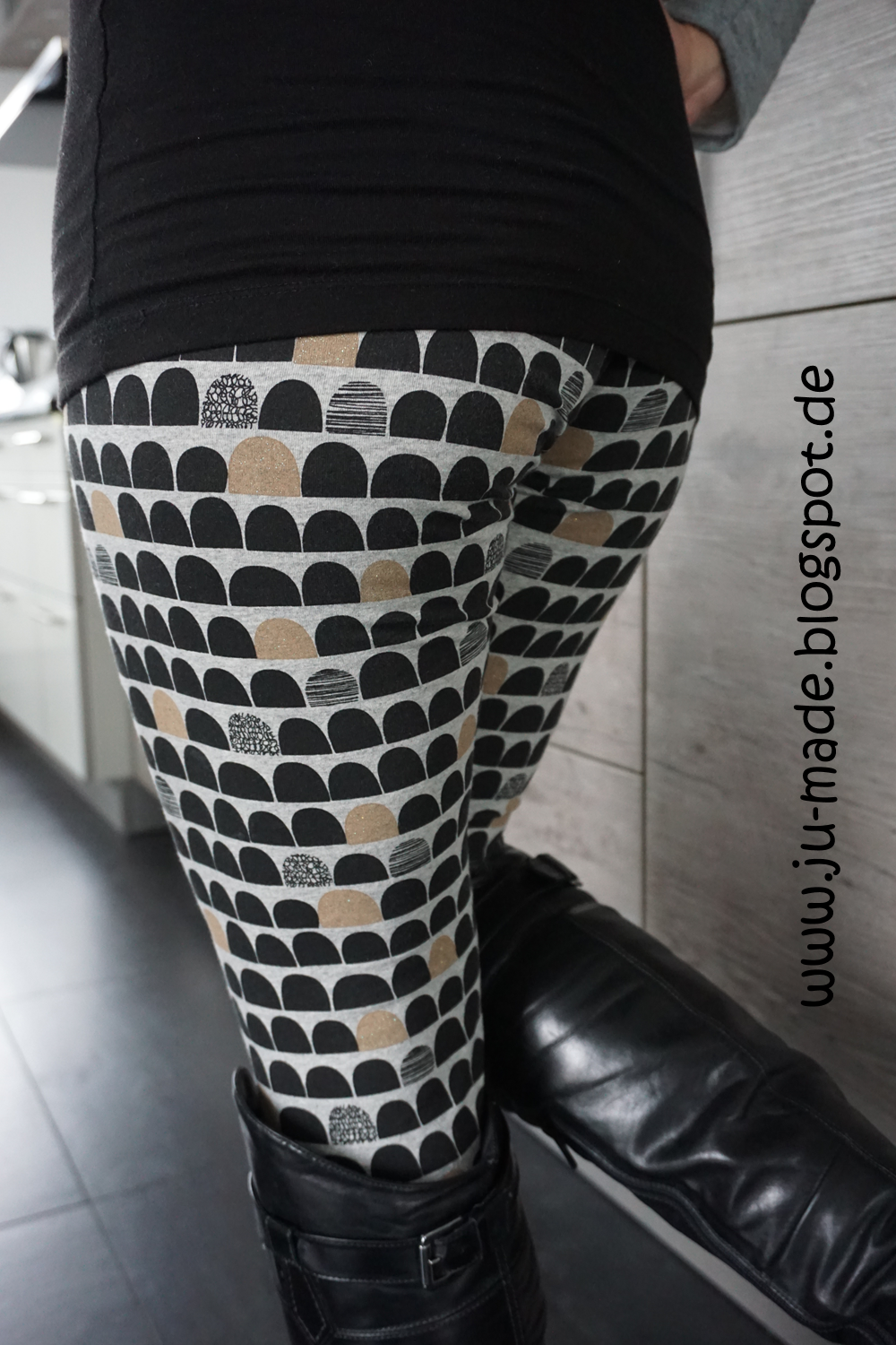 JU-made: Nähen + DIY: ME for FREE - Jerseyleggings