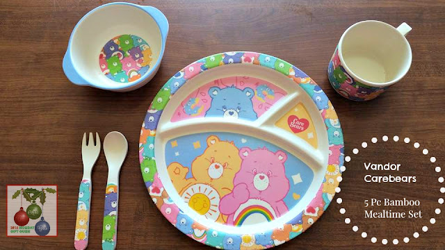 Vandor Care Bears Bamboo Mealtime Set