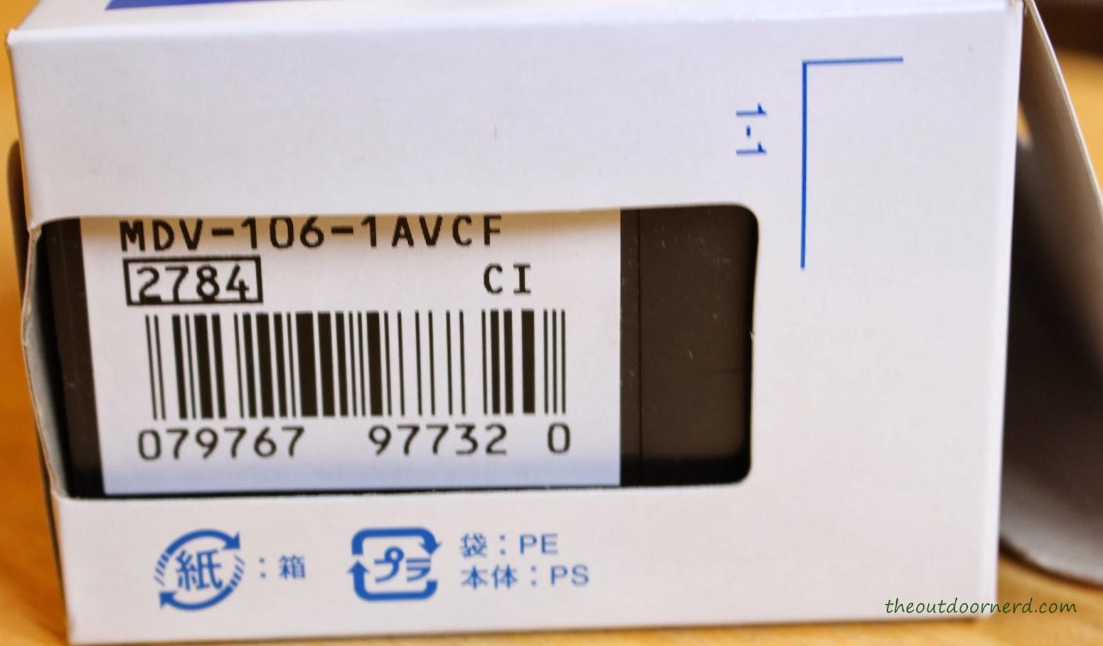 Casio MDV106-1A Diver's Watch: In Box 2