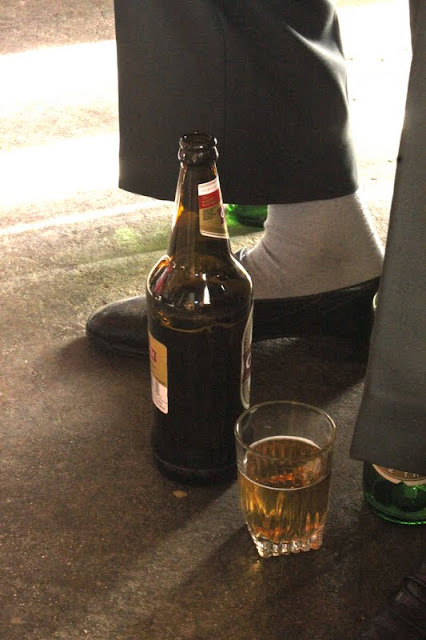 A quart of beer, shebeen, Soweto