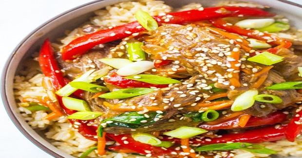 30 Minute Sesame Beef Stir Fry Recipe