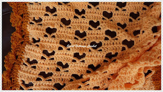 free crochet hearts blanket pattern