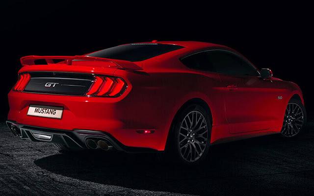 Ford Mustang 2018 - Brasil