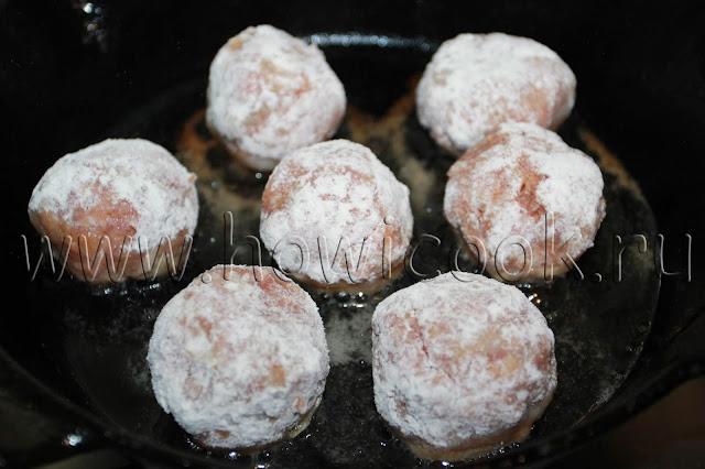 рецепт мясных тефтелей с грибами с пошаговыми фото