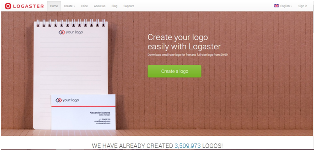 Logaster review - create your logos online