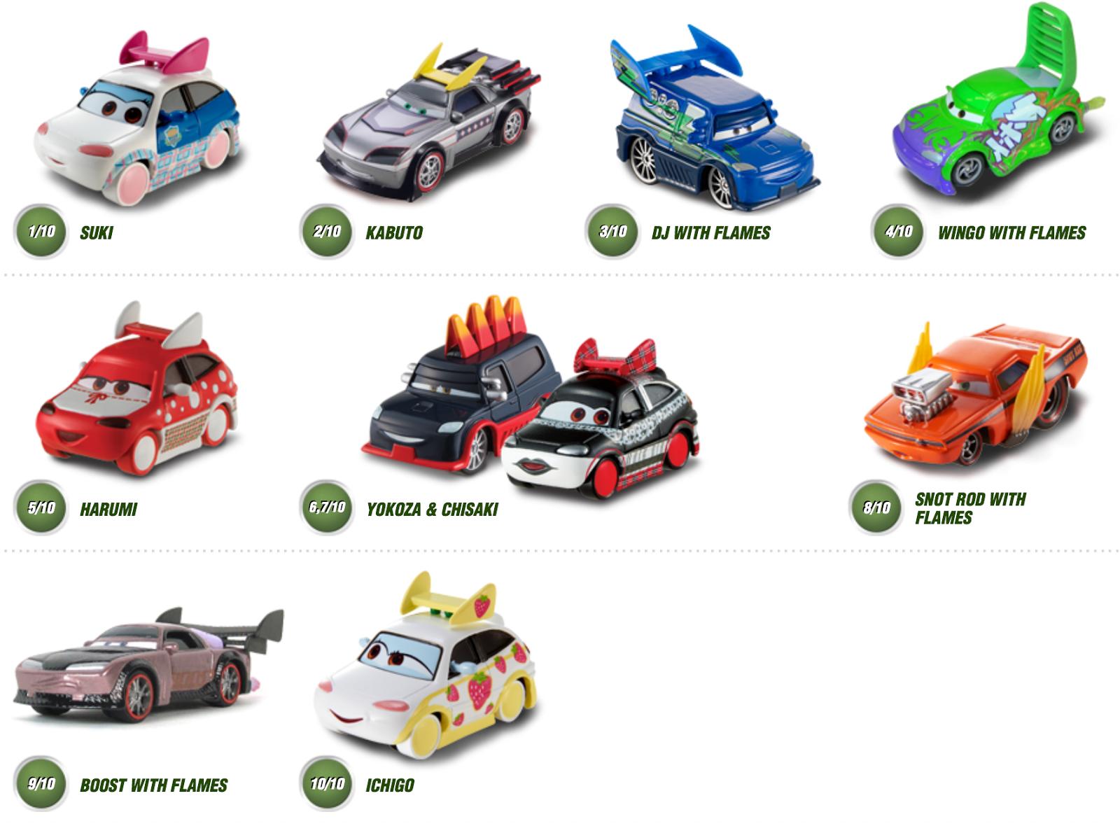Disney Cars Diecast: Disney Cars Rare Die Cast: DISNEY CARS ENTIRE 2013 DIECAST